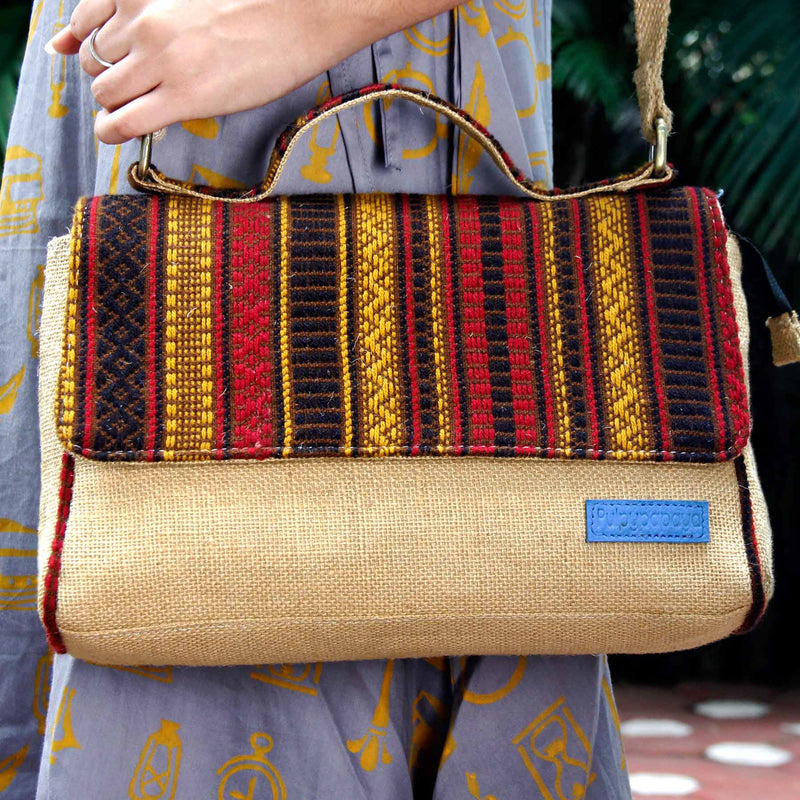 Kutch Regal Satchel Bag
