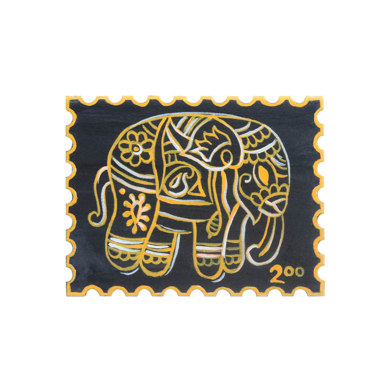 Phad Elephant Fridge Magnet