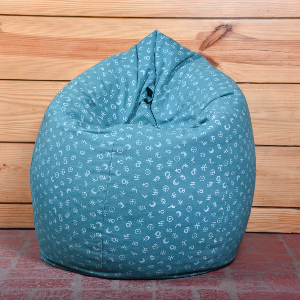 Buy-unique-hand-block-printed-indian-bean-bags-online
