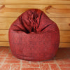 Canary Checkers Bean Bag Cover