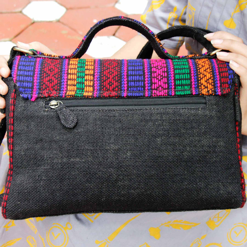 Kutch Pop Satchel Bag