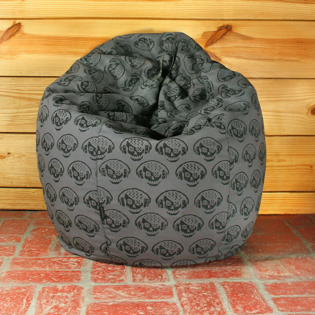 Skull Shadow Bean Bag Cover