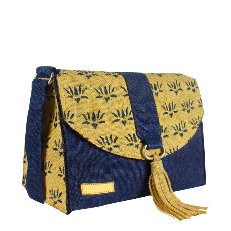 Blond Bloom Satchel