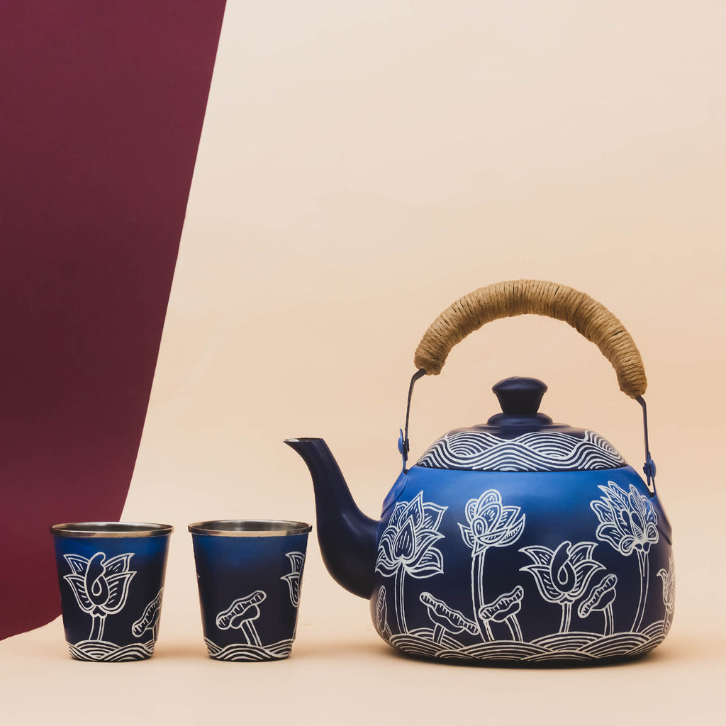 Thangka Lagoon Wedge Kettle