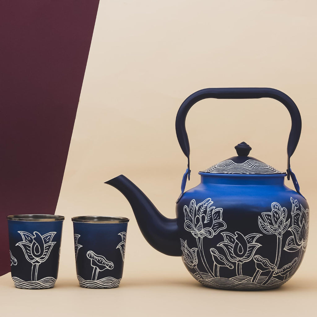 Thangka Lagoon Taj Kettle