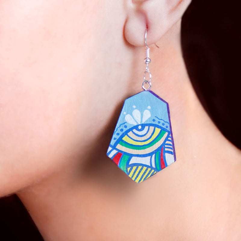 Trippy Eyes Earring