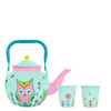 Winsome Owl Kettle With 2 Glasses