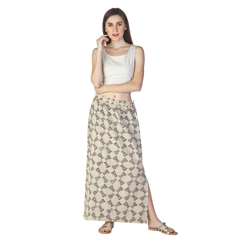 Djembe Slit Skirt