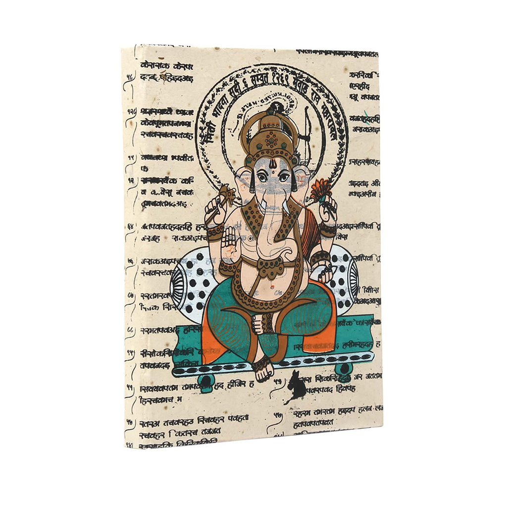Ganesha Scroll Brawny Journal
