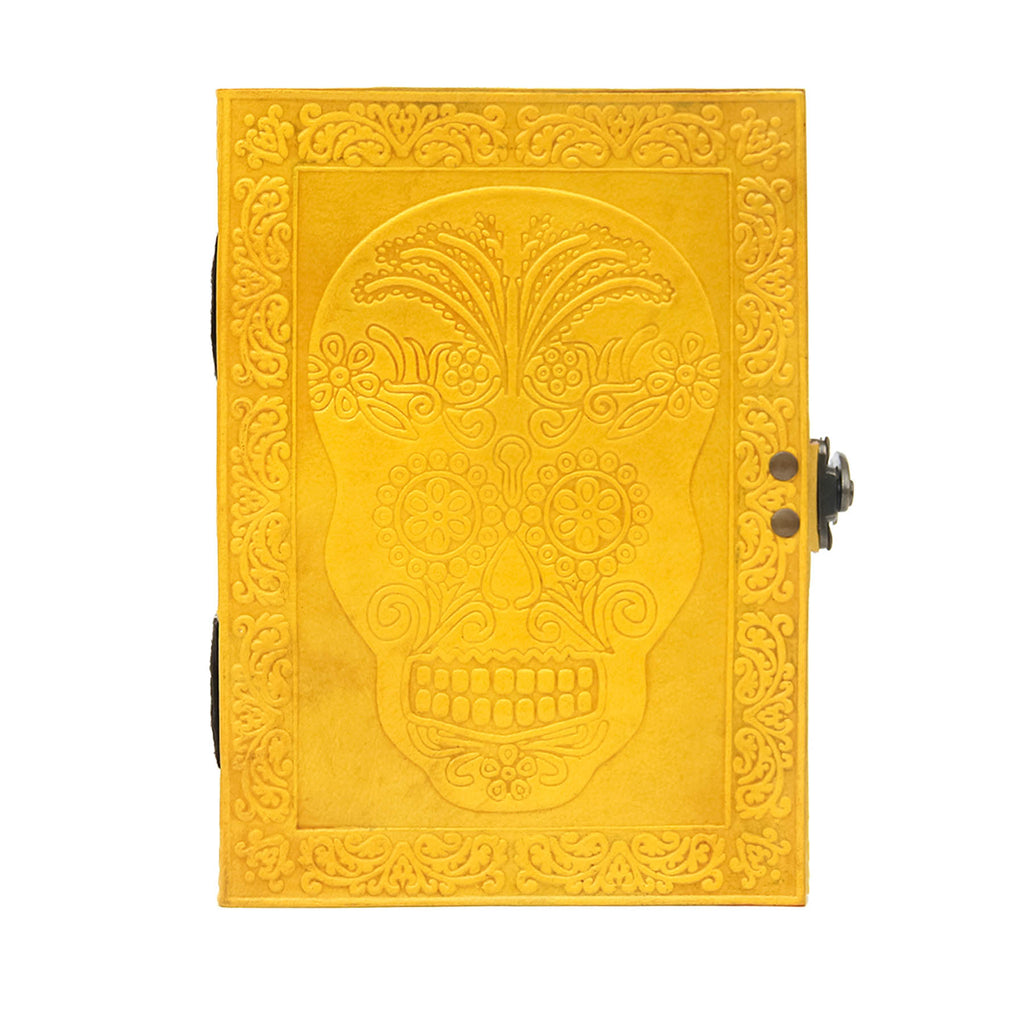 Mexi Skull Brawny Journal