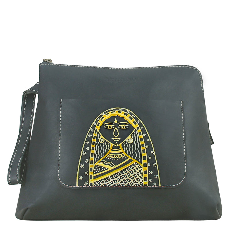 buy indian authentic hand painted wallet bag online by crafinno.com