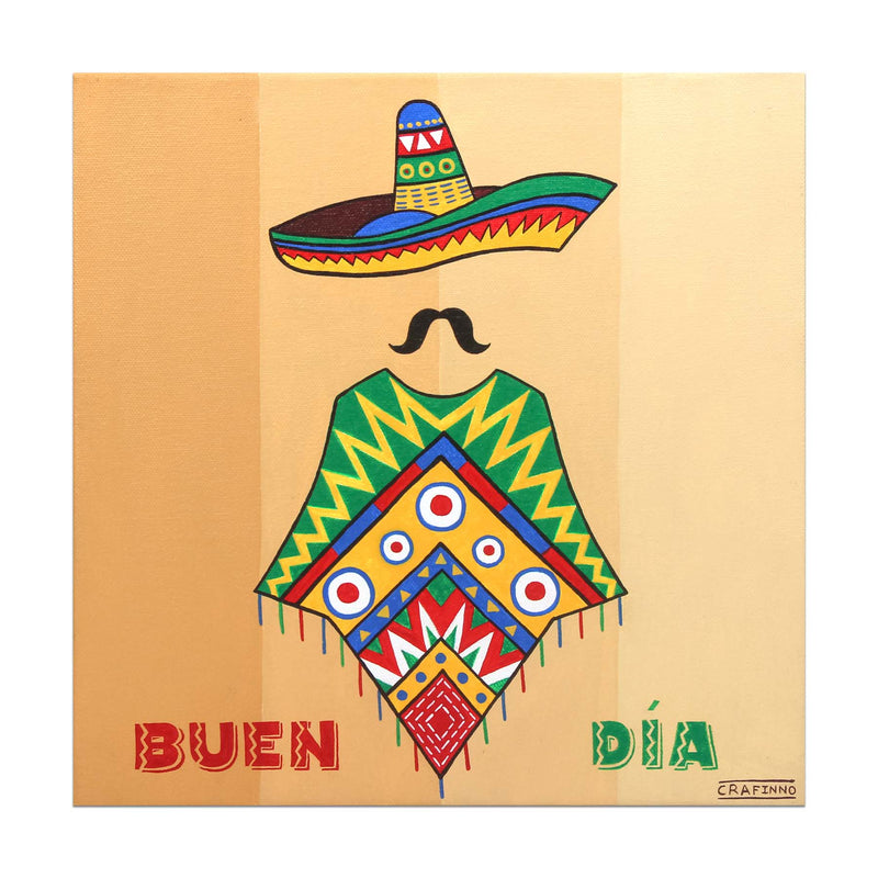 Buen Dia Mexican Painting