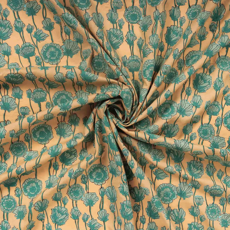 buy floral print fabric store online india paisley unstitched dress material handcrafted at crafinno.com