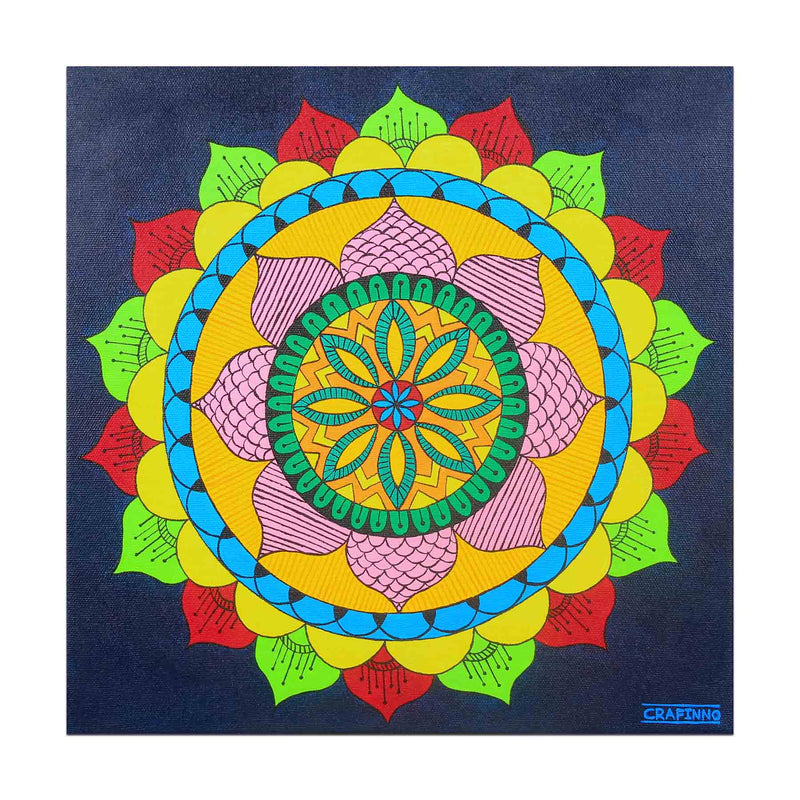 Mandala Illusion Painting
