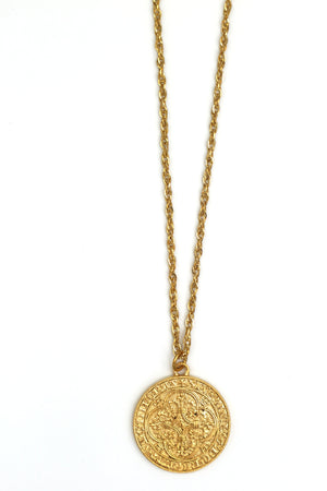 NORMA // Le Collier Grand Ecu d'Or