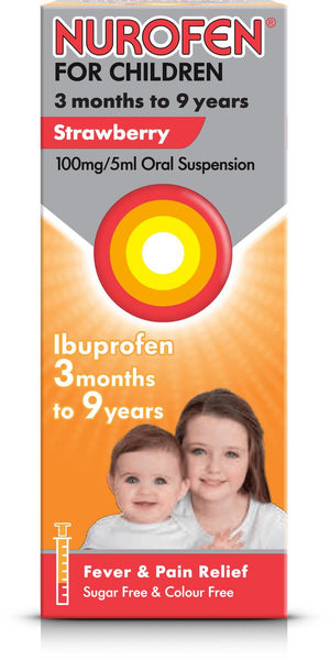 Nurofen for Children Strawberry 3 months to 9 years