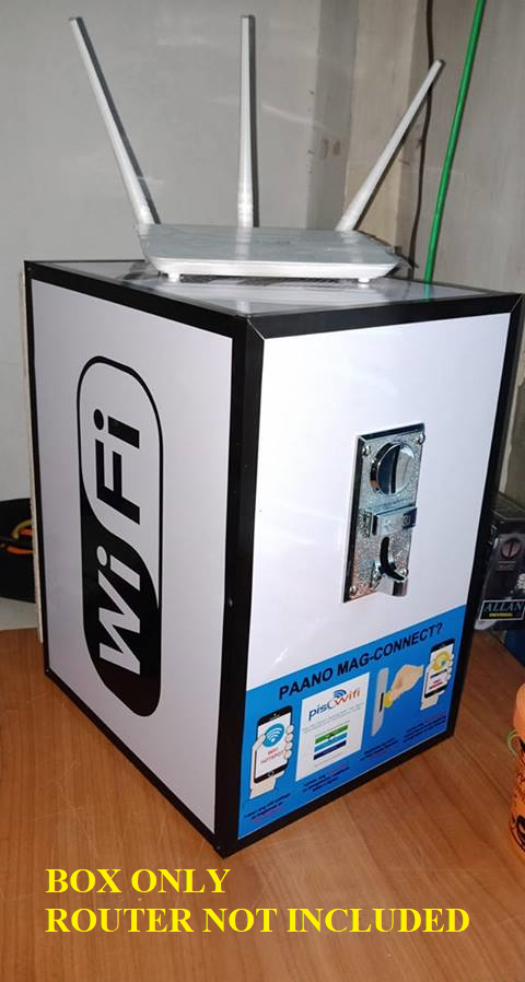 Piso Wifi Vendo Box with Accessories
