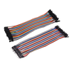 Combo 20pcs Dupont Wires 20cm x 2.54MM ( F-F and M-F)
