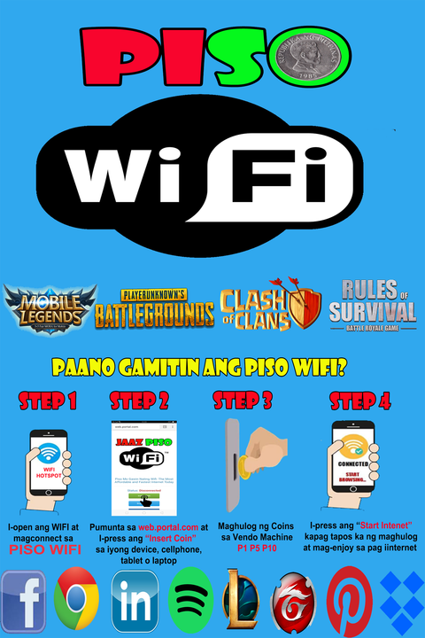 Tarpaulin- Get Exposure of your Piso Wifi