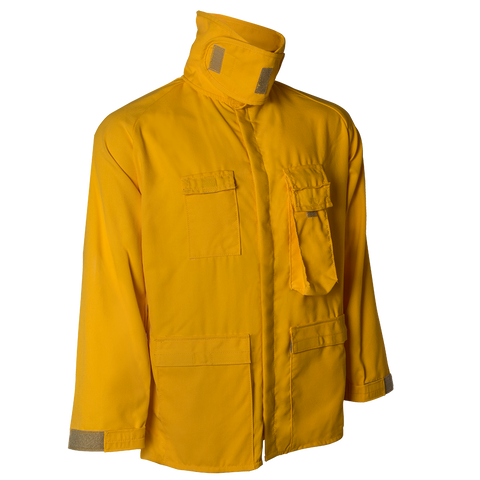BRUSH COAT — 7.0 oz Tecasafe Yellow - CrewBoss