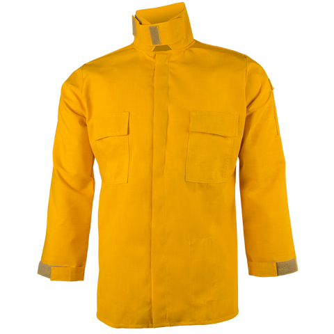 CREWBOSS BRUSH SHIRT— 6.0 oz Nomex IIIA Yellow - CrewBoss