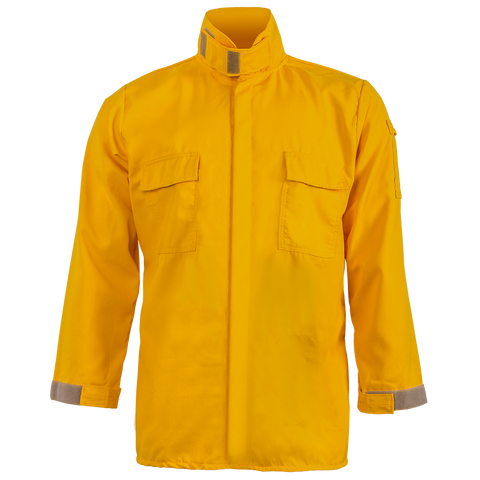 CREWBOSS BRUSH SHIRT — 5.8 oz Tecasafe Yellow - CrewBoss
