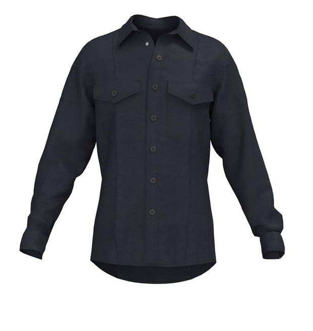 GUARDIAN 1975 LONG SLEEVE CLASS B SHIRT  — 5.8 oz Tecasafe Midnight Navy - CrewBoss