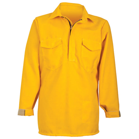 HICKORY BRUSH SHIRT— 6.0 oz Nomex IIIA Yellow - CrewBoss