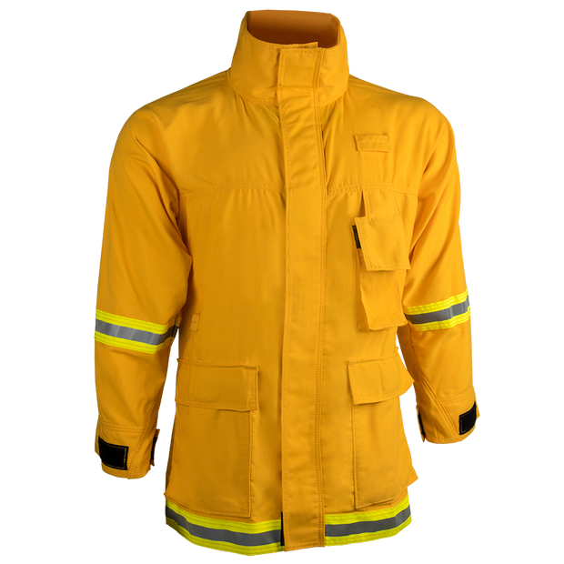 INTERFACE COAT — 7.0 oz Tecasafe Yellow - CrewBoss
