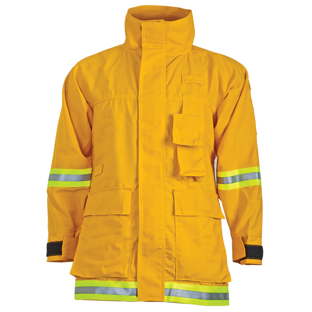 INTERFACE COAT — 6.0 oz Nomex Yellow