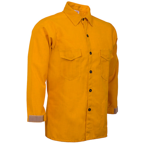TRADITIONAL BRUSH SHIRT — 6.0 oz Nomex Yellow - CrewBoss