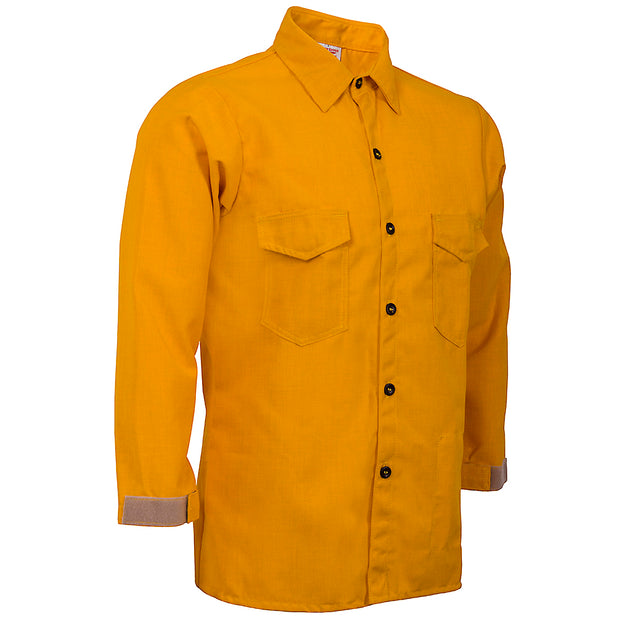 TRADITIONAL BRUSH SHIRT — 6.0 oz Nomex Yellow