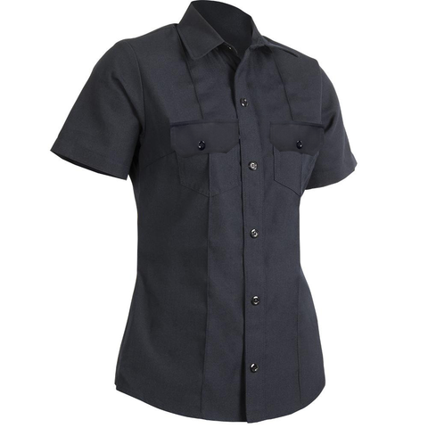 WOMEN'S VALOR SHORT SLEEVE CLASS B SHIRT — 4.5 oz Nomex Midnight Navy - CrewBoss