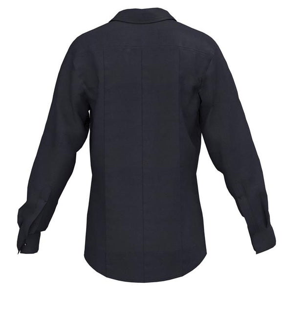 VALOR 1975 LONG SLEEVE CLASS B SHIRT  — 5.8 oz Tecasafe Midnight Navy - CrewBoss