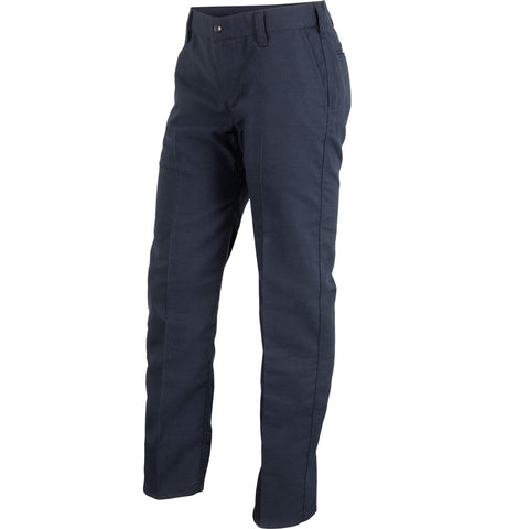 WOMEN'S STATION WEAR PANT — 7.0 oz Tecasafe Midnight Navy - CrewBoss