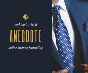 ANECDOTE PROGRAM : WORK - BUSINESS - CAREER