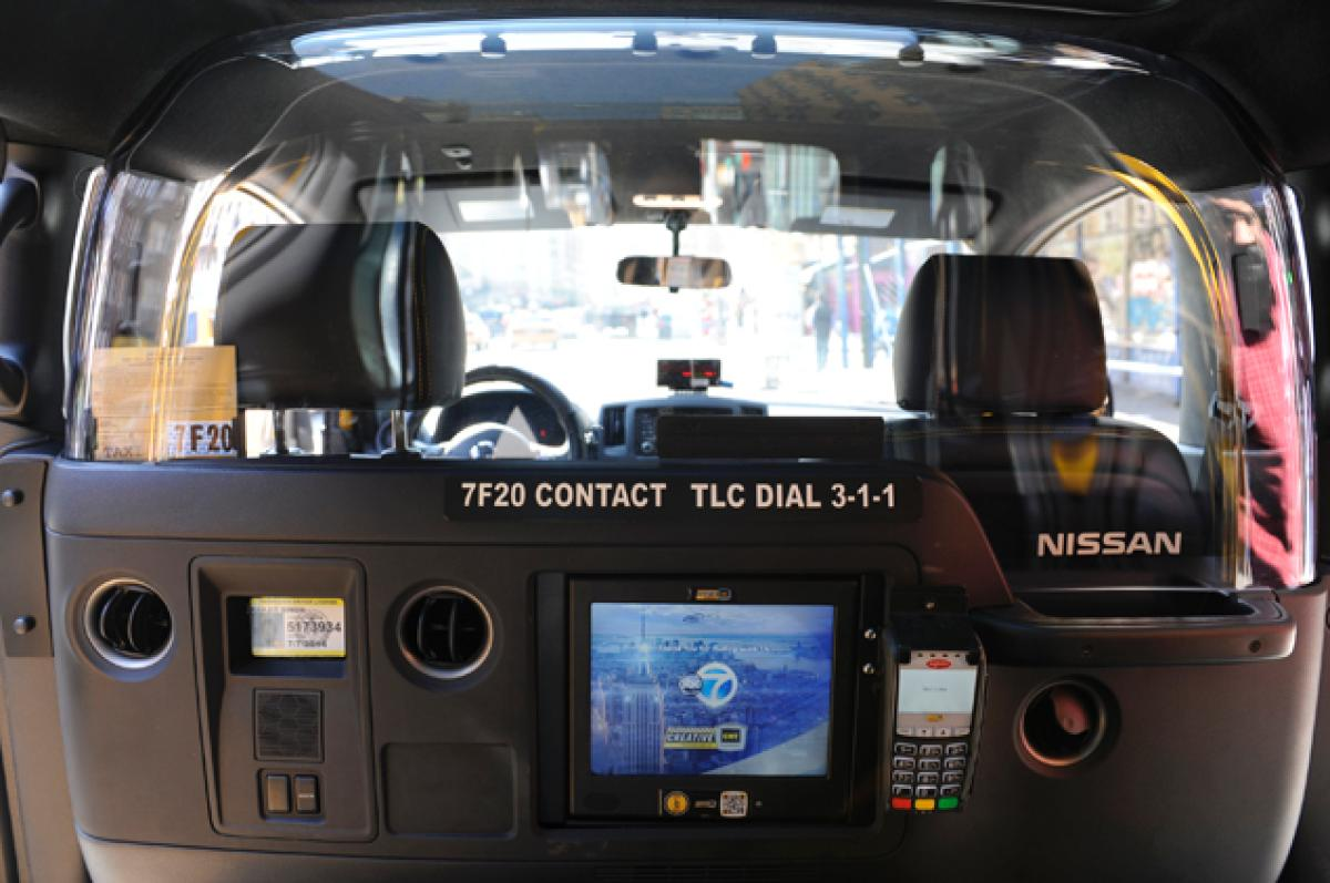 Enhancing Taxi and Ridesharing Services with Interactive Touchscreens