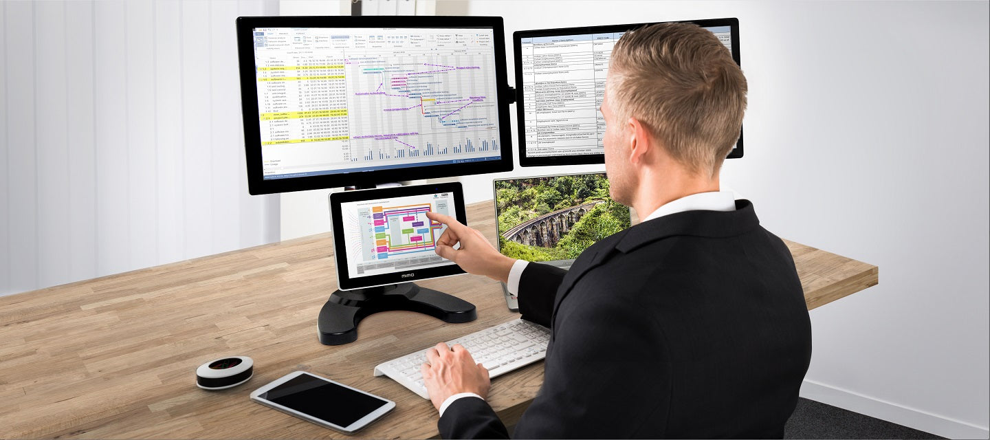 Multi-Screen Workstations are the New Gold Standard for Productivity