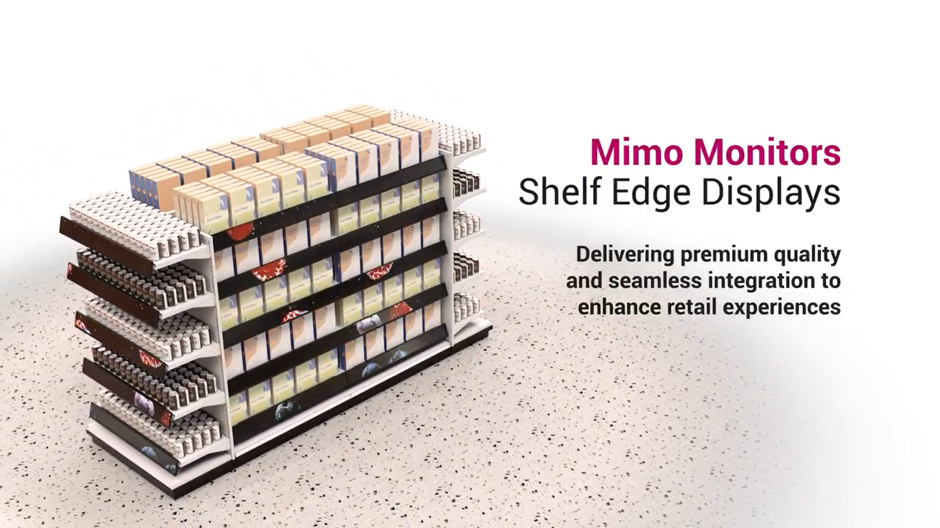 Mimo Shelf Edge Announcement