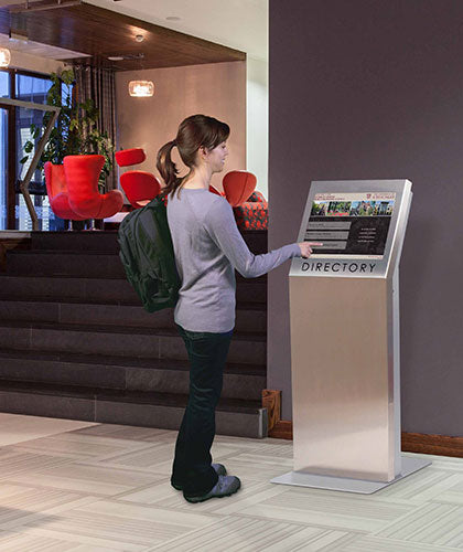 Touchscreen Kiosks Alleviate Wait Times, Delight Consumers
