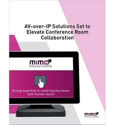 AV-over-IP Solutions Set to Elevate Conference Room Collaboration