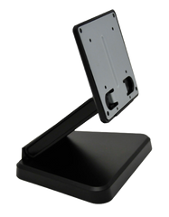 Monitor Stand, Tilt and Rotate Bracket, Pre-Drilled Mounting Holes, Black