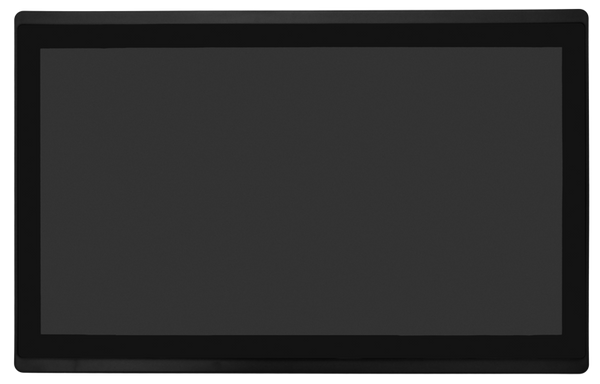 "15.6"" Open Frame, Desk Top or Wall Mountable Multi Point Capacitive Touch 1920x1080 Display, External Power Supply Incl., VGA, HDMI, Black (M15680C-OF-B)"