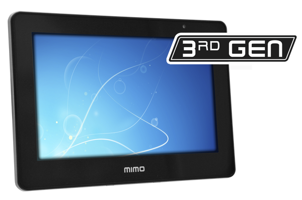 "Mimo 7"" Capacitive Touch Display, USB with 75mm Vesa pattern (UM-760CF)"