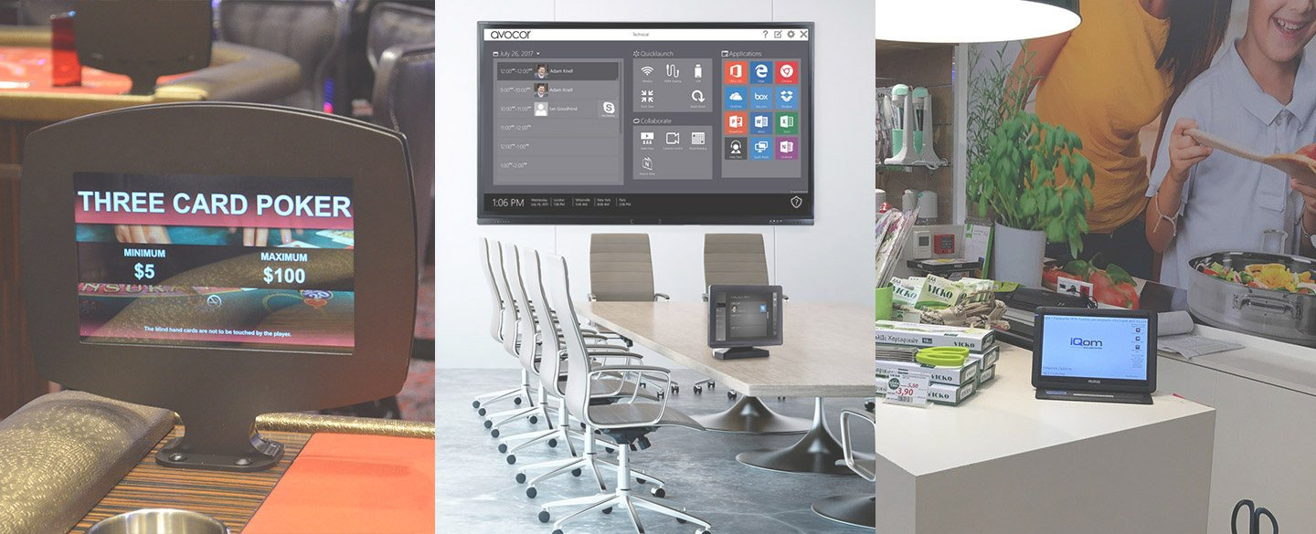 Open Frame and Touch Screen Monitors & Displays | Mimo Monitors