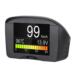 AUTOOL X50 Plus Car OBD HUD Smart Digital Meter&Alarm Fault Code Water TEMP Digital Voltage Speed Meter HeadUp Display