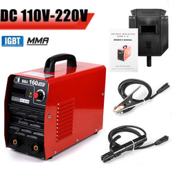 EVERPOWER Arc Welding 110V IGBT Mini Inverter Electric Welder Machine 20-160A Copper Cable Mask Welder