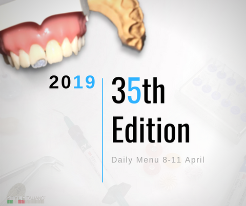 The Daily Menu 35th Edition - 08-11 April 2019