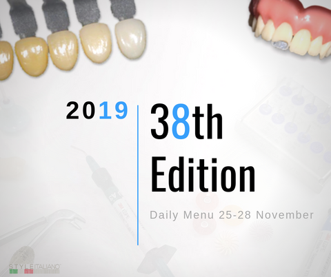 The Daily Menu 38th Edition -  25-28 November 2019
