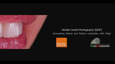 Mobile Dental Photography - Prof. Louis Hardan